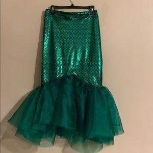 New handmade high waist mermaid skirt